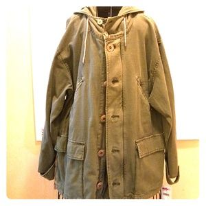 FREE PEOPLE ARMY JACKET